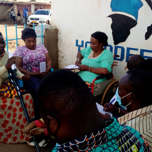 People living with Disabilities Dzaleka