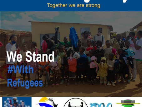 On this World Refugee Day, together we are stronger