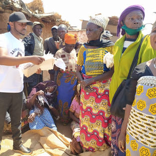 Yocodesop food distribution to Vurnerable families in Dzaleka