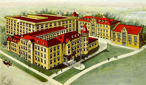 Kemper picture from the 1919 yearbook featuring the grand old building that is no more..jpg