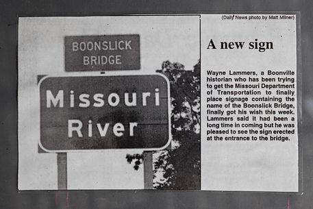 Bridges page Boonslick Bridge sign.JPG