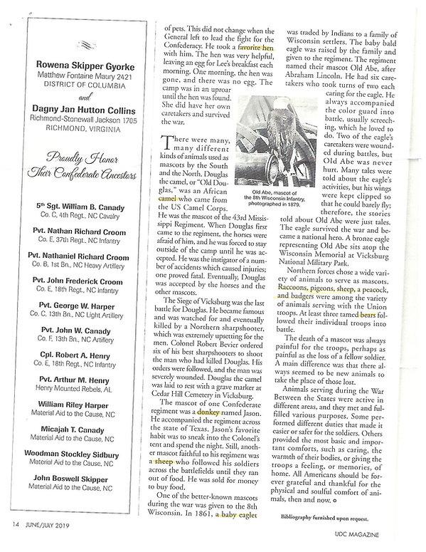 Civil war page animals 2.jpg