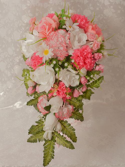 BRIDE'S BOUQUET - PINK ANGELIC