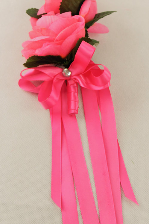 GRADUATE CORSAGE - GENERAL THEME - PINK