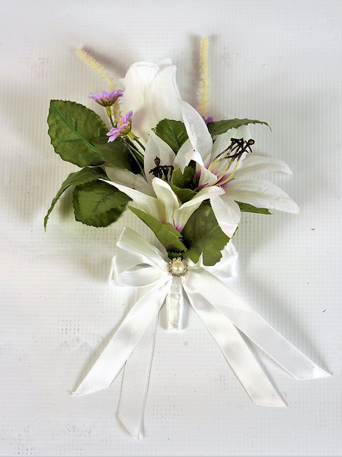 GROOM'S BOUTONNIERE - TROPICAL PARADISE