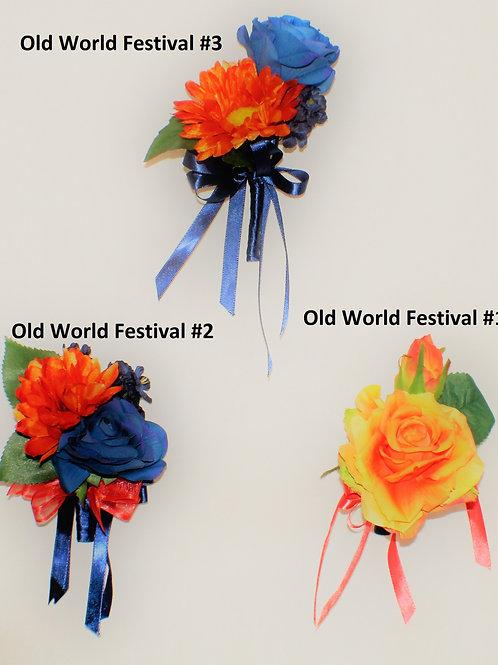 GRADUATE BOUTONNIERE - OLD WORLD FESTIVAL