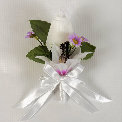 RING BEARER'S BOUTONNIERE - TROPICAL PARADISE
