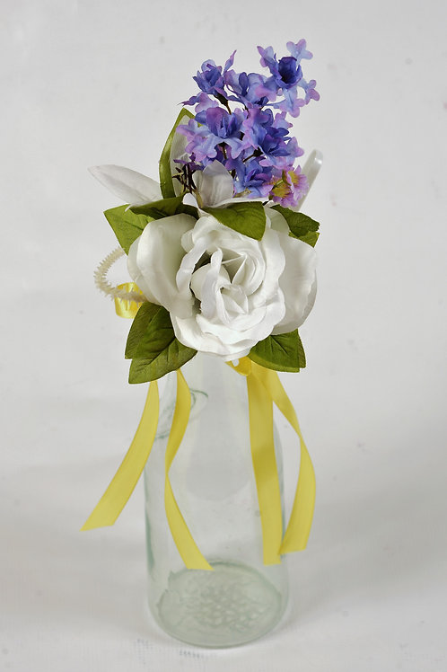 MAID OF HONOR WRIST CORSAGE - TROPICAL PARADISE