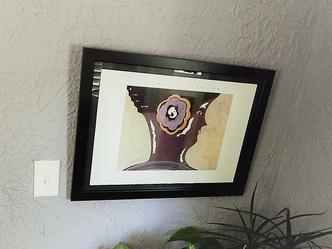 Print on wall