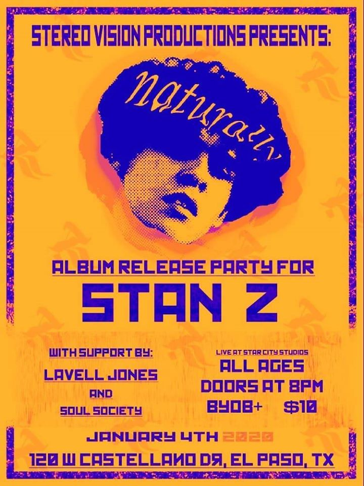 Release Party Flier