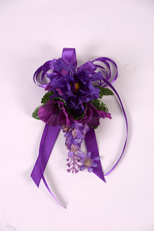 MOTHER-OF-GROOM CORSAGE - PURPLE MAJESTY