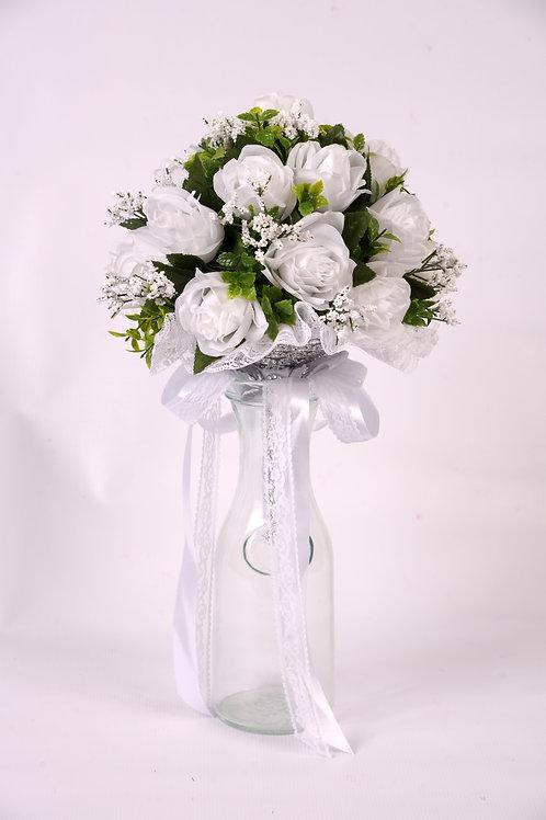 BRIDE'S BOUQUET - GENERAL THEME (WHITE ROSE)