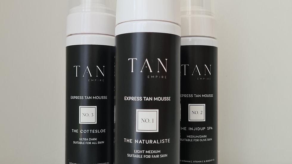 Tan Empire Tan Mousse + Mitt