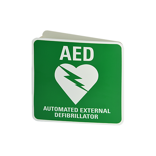 AED Angle Wall Sign
