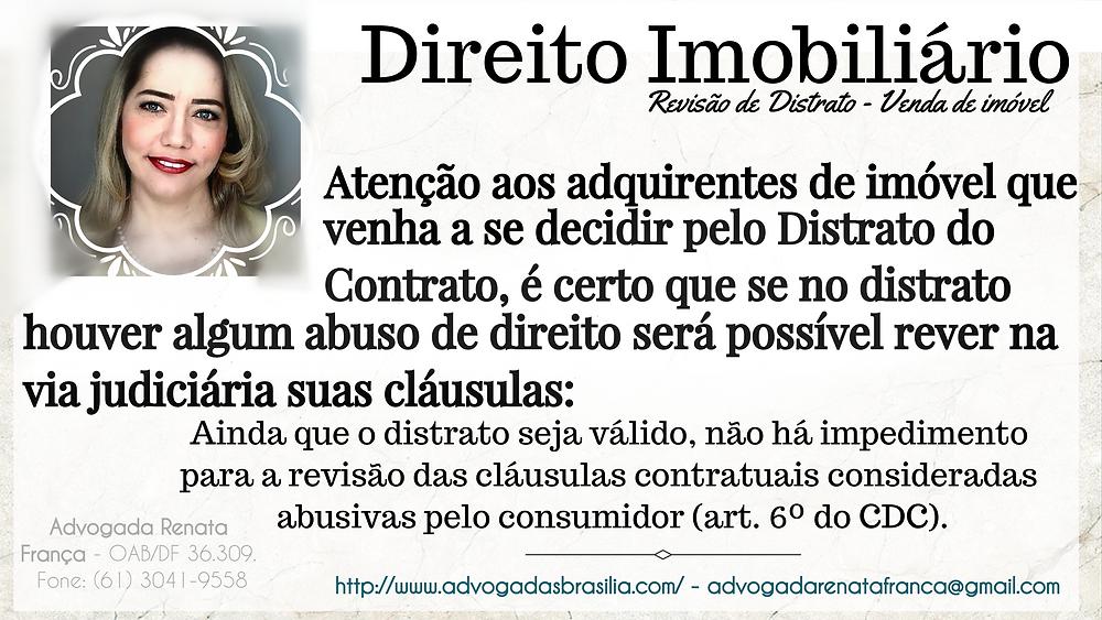 Advogado Direito Imobiliário Contrato, Distrato, Rescisão Contratual, Devolução parcelas pagas.
