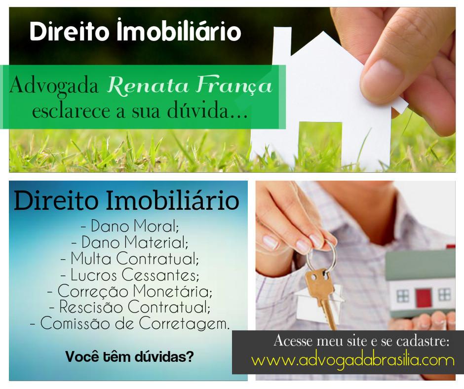 direito imobiliário, Rescisão Contratual, Lucros Cessantes, Dano Moral, Dano Material, Comissão de Corretagem.