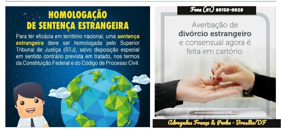 Advogado Homologação de Sentença estrangeira no Brasil