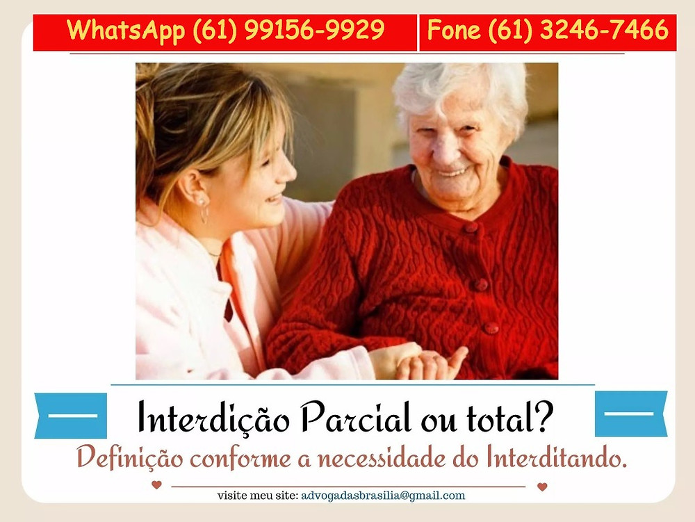 interdição, curatela, advogado brasilia, idoso, alzheimer