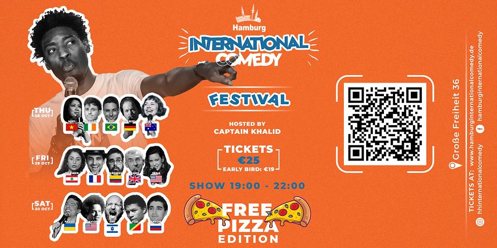Hamburg International Comedy Festival : With Free Pizza
