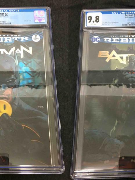 Rebirth Batman #21 & #22