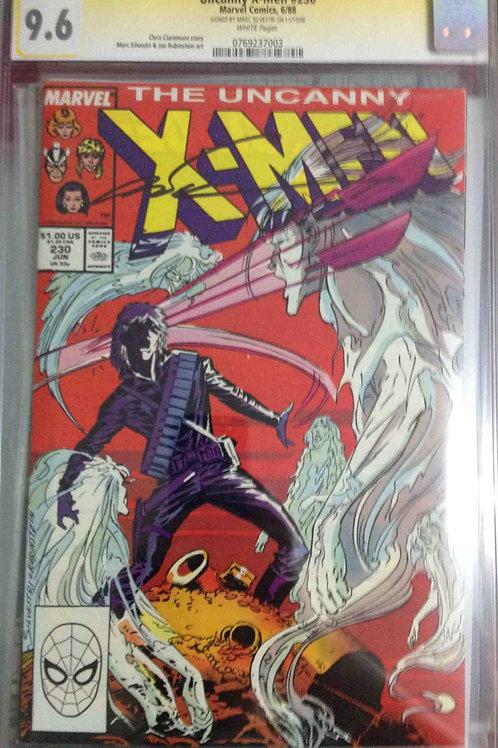 Uncanny X-Men #230 CGC 9.6 SS