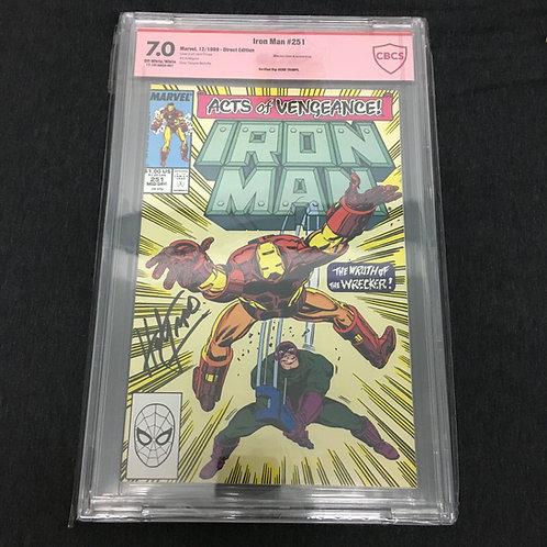 Iron man #251 CBCS 7.0 VS