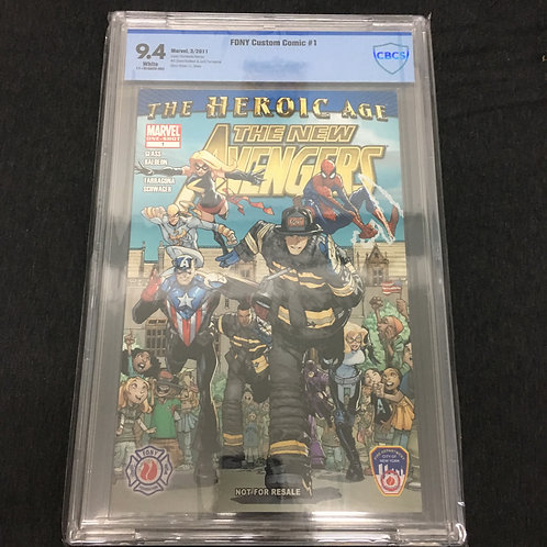 The Heroic Age: The New Avengers #1 CBCS 9.4