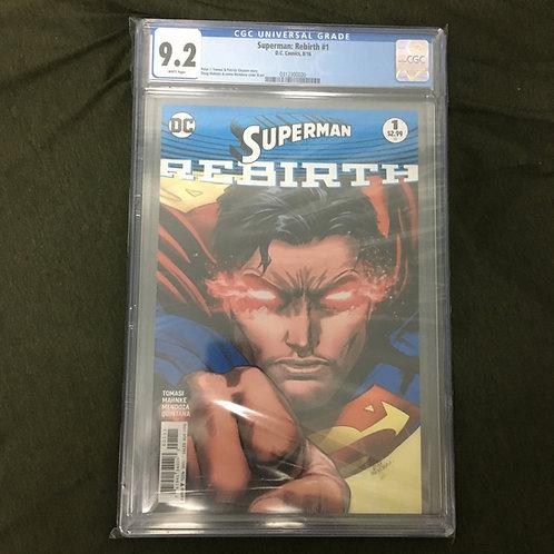 Superman Rebirth #1 CGC 9.2