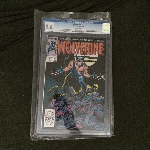 Wolverine (1988) #1 CGC 9.6