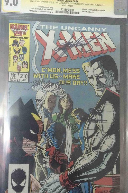 Uncanny X-Men #210 CGC 9.0 SS
