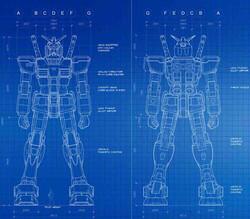 Gundam Blue Print