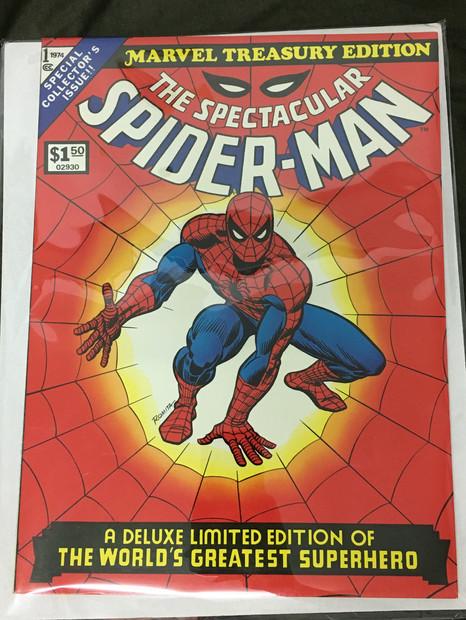 Marvel Treasury Edition #1 - The Spectacular Spider-Man