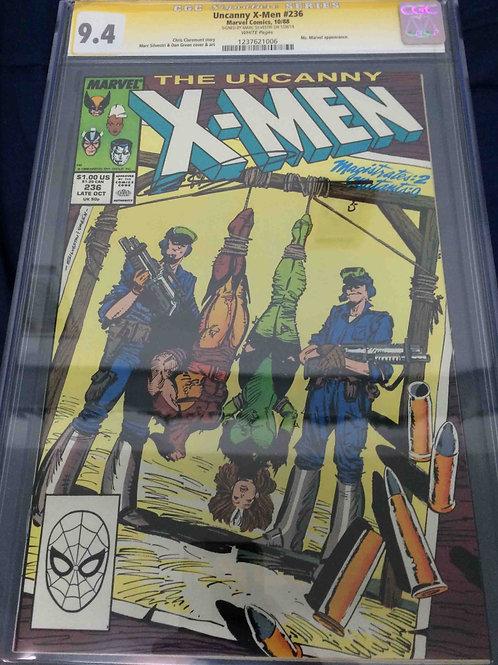 Uncanny X-Men #236 CGC 9.4 SS