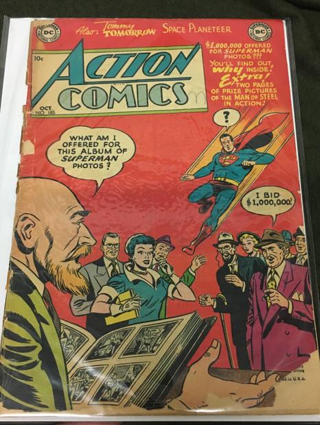 Action Comics #185