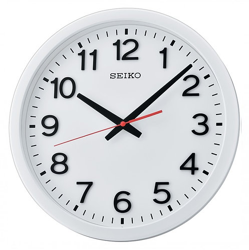 Seiko Wall Clock QXA732W Frosted