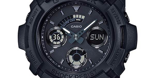 Casio G-Shock AW-591BB-1A Black-Out