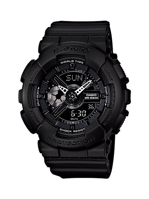Baby-G BA-110BC-1A Black-Out