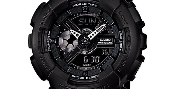 Casio Baby-G BA-110BC-1A Black-Out