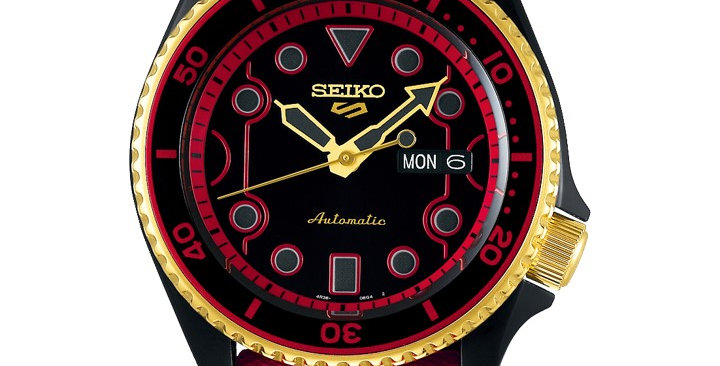 Seiko 5 SRPF20K1 Street Fighter Ken (Limited Edition of 9,999 Pieces)