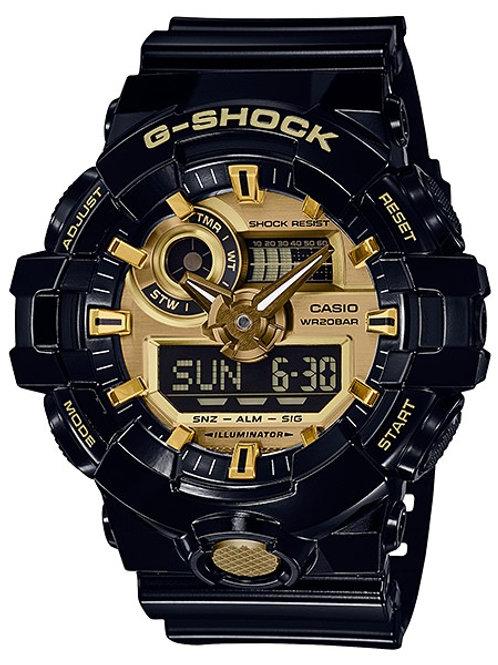 G-Shock GA-710GB-1A Gleaming