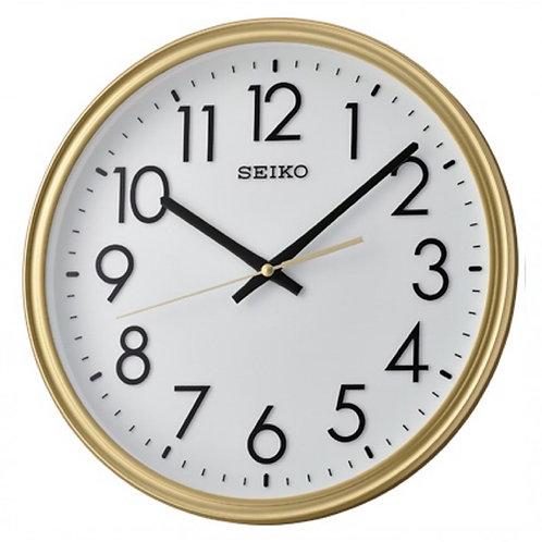 Seiko Wall Clock QXA736G Liquid Gold