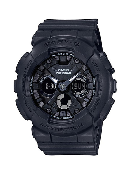 Baby-G BA-130-1A Black-Out