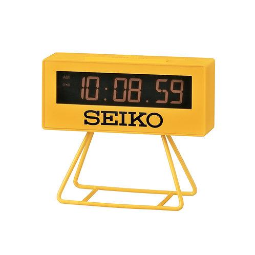 Seiko Table Clock QHL062Y Canary