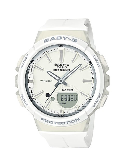 Baby-G BGS-100-7A1 Off-White