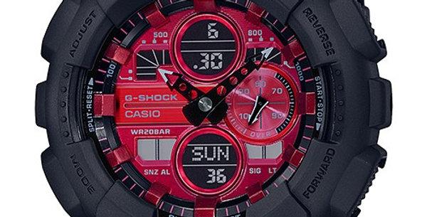 G-Shock GA-140AR-1A Adrenaline Red