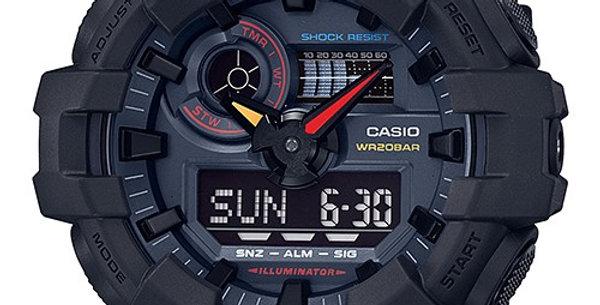 Casio G-Shock GA-700BMC-1A Neon