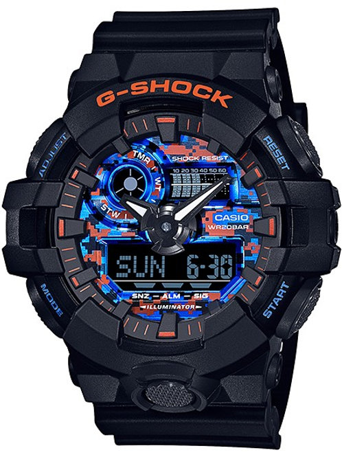 G-Shock GA-700CT-1A Urban City