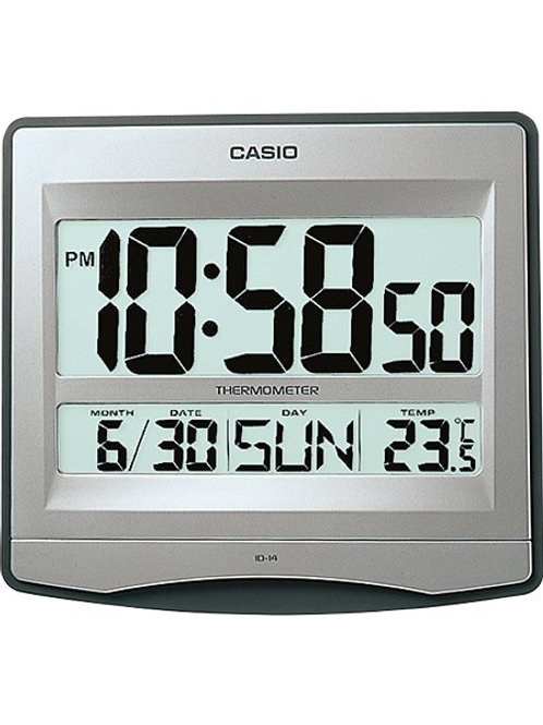Casio Wall Clock ID-14S-8D Definitive