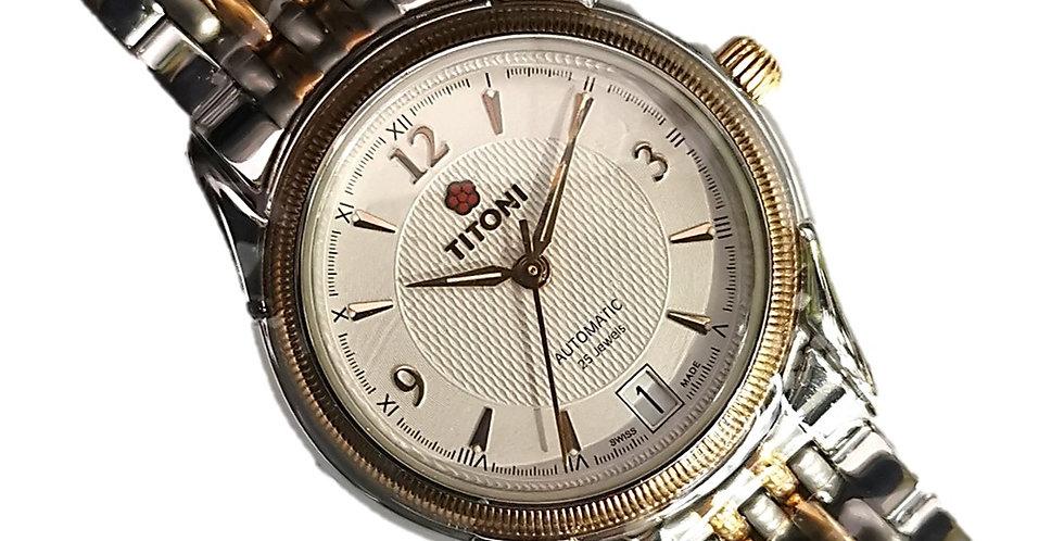Titoni Classic 8367 Silver Gold