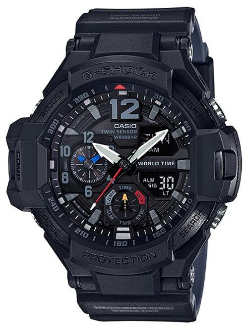 G-Shock GA-1100-1A1 Navigation